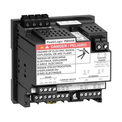 Mặt sau Powerlogic PM5000
