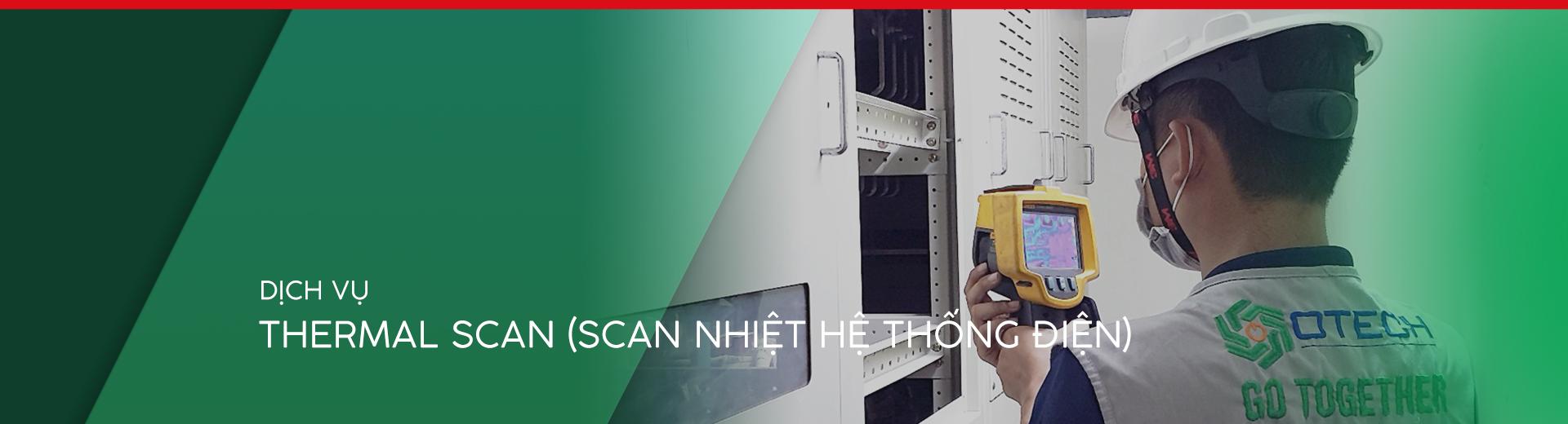 Dịch vụ scan nhiệt online (chụp ảnh nhiệt) hệ thống điện