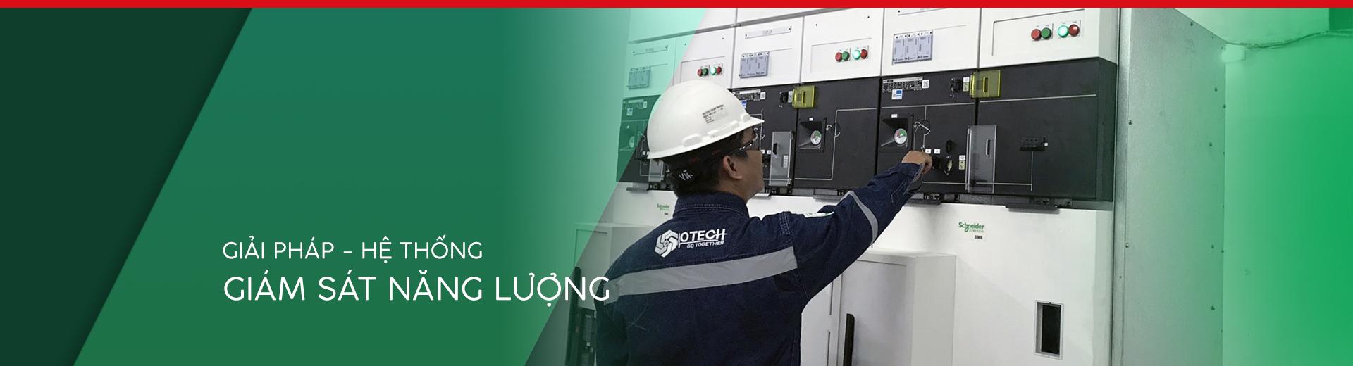 Giải pháp giám sát năng lượng OTECH