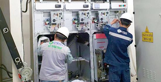 Bảo trì tủ trung thế trang dịch vụ