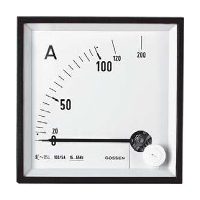 Đồng hồ đo ampe 16073 72x72