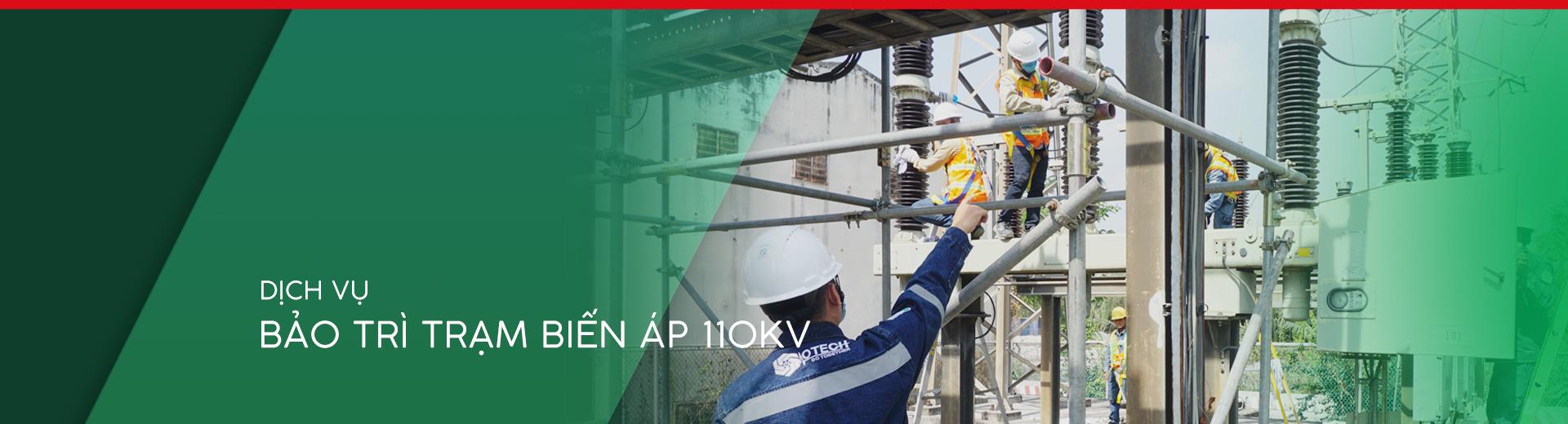 Dịch vụ bảo trì trạm biến áp 110kv OTECH