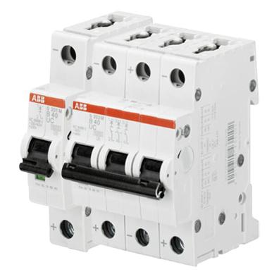 Aptomat tép MCB dòng điện DC S200MUC